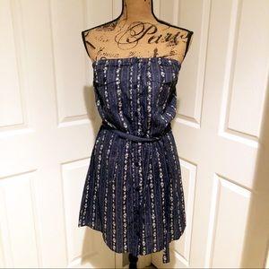 Heritage 1981 chambray print dress